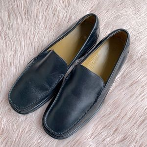 Cole Haan x Nike Air leather loafers shoes AU14